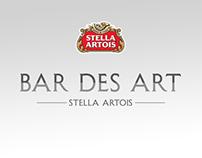 STELLA ARTOIS  ·  bar des art