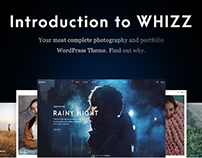 Whizz - Responsive Photography Portfolio WordPress Them