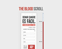 Blood Scroll. Colombian Red Cross