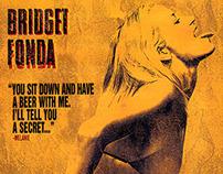 JACKIE BROWN movie poster design