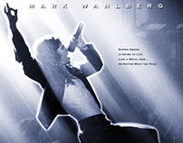 ROCK STAR movie poster design