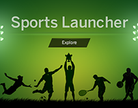 Intuiface Touch Composition for SAP Sport Launcher