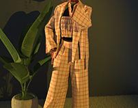 Jacket Set- Blazer Combo- 3D Fashion
