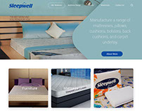 Sleepwell Microsite