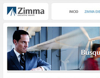 Diseño web - Consultora Zimma Executive Search