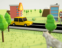 Email low poly 3D