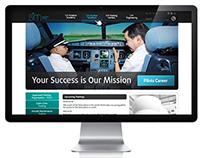 """""""SIM"""" Aviacijos grupės internetinis puslapis"""
