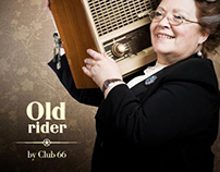 Old Rider by Club 66 restaurant and bar branding