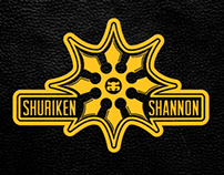 Shuriken Shannon Footwear Logo & T-shirt