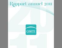 Rapport annuel CARTE