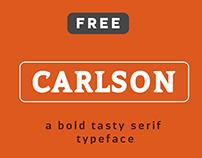 CARLSON(FREE FONT)