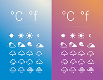 20 Weather Icons Set