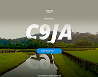 C9ja Virtual Tour UI/UX