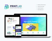 PrintLab – Type Design & Printing Services WP Theme