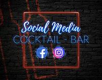 Social Media Cocktail Bar Bartender