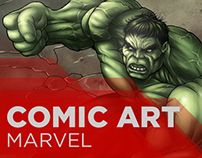 Comic Art, Marvel