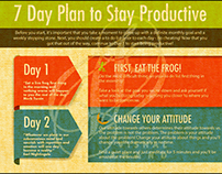 7 DAYS PLAN TO STAY PRODUCTIVE