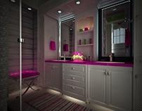 girls bath room