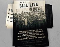 Bijl Live Flyer Design