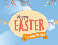 FoodWorks Easter Campaign 2015