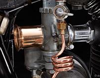 Motorcycle Norton 1936