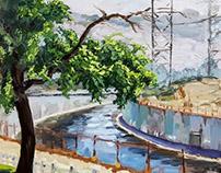 2017 Plein air painting