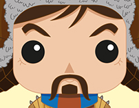 FUNKO POP: THE HOBBIT_Illustration