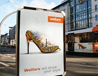 Welfare billboard and poster (CONCEPT)