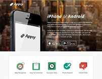 Appsy, Wordpress Apps Software Landing Page Theme