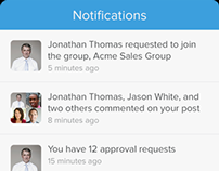Salesforce1: Notifications System and UI