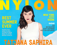 NYLON Indonesia June/July 2015 -Tatjana Saphira