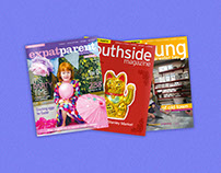Published Magazines Layout Designs