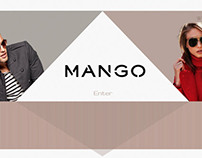 Redesign Website - MANGO