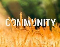 Community Landing Page
