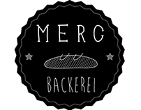"logo for ""MERC Backerei"""