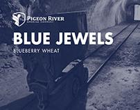 Pigeon River Blue Jewels Identity