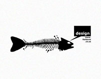 Fishbone Ad Agency Logo Design