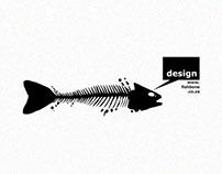 Fishbone Ad Agency Logo Design
