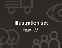 Icons and illustrations to communicate FLEGT