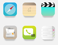 iOS 7 Icons // Re_thinking