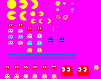 Pac-Man - mobile games, pixel perfect production