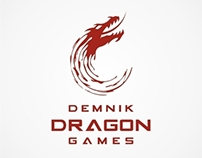 LOGO DESIGN - Demink Dragon Games