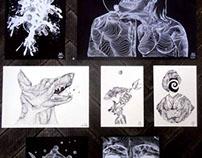 limited edition screenprints 2013