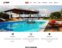 JSN Sky, Joomla Responsive Hotel Travel Template