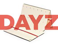 DAYZ // planner / calendar / diary