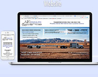 Sina & Son Transportation Inc. Website
