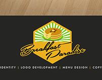 Menu Design: Breakfast Paradise New Menu items