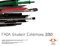 FADA exhibition poster