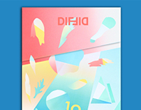 DIF Mag - 10 Years Cover