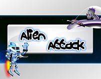 """Juego Interactivo """"Alien Attack"""""""